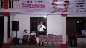 Albertus Patarru dan John Diplomasi
